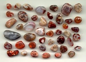 Agate de pierres précieuses