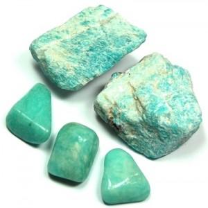 pierre précieuse amazonite